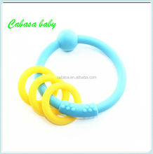 Chewable silicone bead necklace cheap fashion high quality beads wholesale BPA free