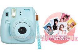 Fujifilm Instax Mini 8 Fuji Instant Camera Blue NEW Japan Version