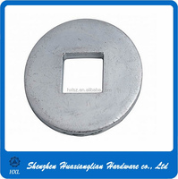 China custom manufacturers steel galvanized square hole carriage bolt washer