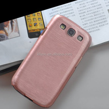 brushed pc cell phone case for samsung s3