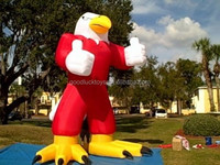 20' INFLATABLE EAGLE /BLOWER 4 ADVERTISING PROMOTIONS 2015 Hot sale giant inflatable eagle for advertising