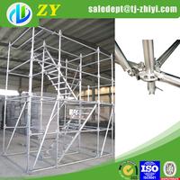 Q235 ringlock scaffolding models for sale