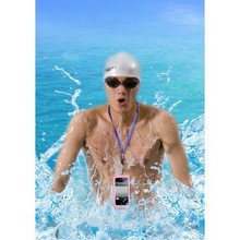 100% Waterproof Beach Phone Cover for iPhone 4/4S/iPhone 5/5S with IPX8 Report, PC+PET+TPU+ Silicone Waterproof Cover,