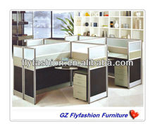 elegangt office workstation for 4 person/office cubicle workstation