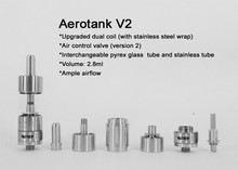 2015 May New healthy product aerotank kanger v2 dual coil v2