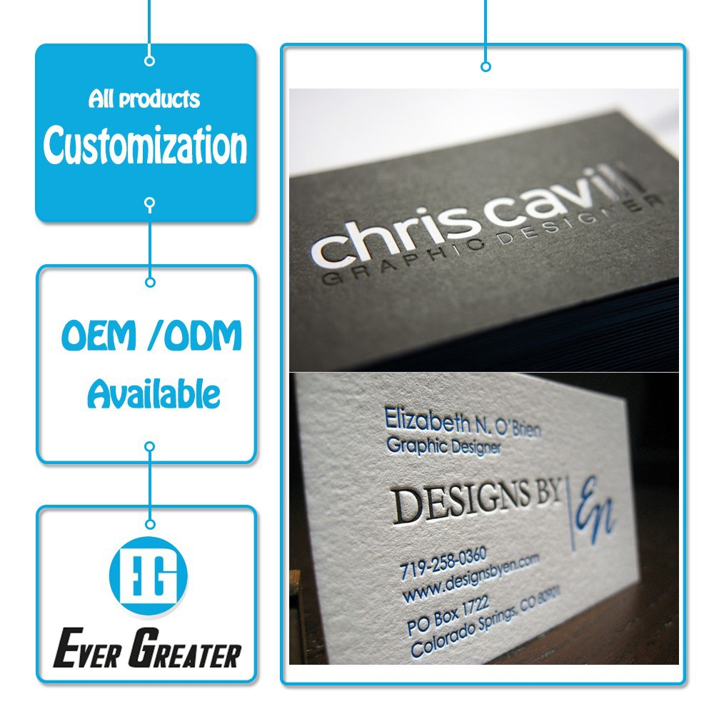 Custom Business Card Embossed Business Card Business Card