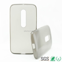 China supplier TPU phone case glaze outside mobile bag for MOTO G3