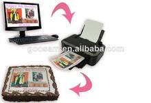 Cores vivas segurança comestíveis jato de tinta para impressora hp/epson impressoras desktop