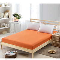 Lowest Price Bed Decoration Bed Sheet 150x200cm Flat Fitted Coverlet Sheet Set Comfort Cotton Solid Color Bed Cover 8 Colors