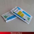 bolsa de refuerzo lateral de plástico con la impresión de los plaguicidas, la bolsa fuelle lateral plástico plata