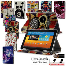 "Universal Leather Folding Stand Case Cover For 10"" 10.1 Inch Android Tablet PC + FREE Micro-Fiber Stylus Pen Free Shipping"