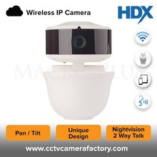 High Quality 1MP HD New Mini Pan Tilt Zoom Nightvision Indoor Hidden Wifi Audio Support IP Camera