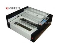 desktop perfect hot melt glue book binding machine