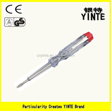 China Factory Ordinary tester pen /screwdriver with AS plastic ,long-life neon light