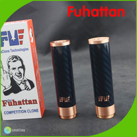 2014 Top selling unique design multicolor carbon fiber fuhattan mod/fuhattan/fuhattan mod clone