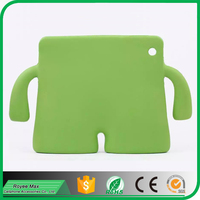trade assurance alibaba wholesale cute 3D design rubber soft silicone case for ipad air mini 2 3 4