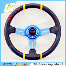 New Car Steering Wheel 14 Inch PVC Steering Wheel Pink Colour Sport Steering Wheel