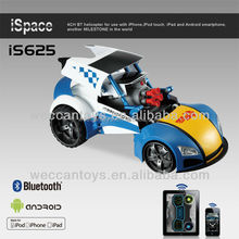 iS625 -Weccantoys Gift for kids! transform and roll out! bluetooth control RC toy robot car