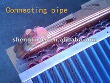 Trocador de calor pacote pneumático teste