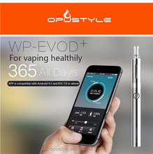 Innovation design!!! Bluetooth e cigarette WP-EVOD Plusevod twist starter kit electronic cigarette