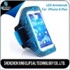 Innovative mobile phone accessories, customized soccer captain sport armband for iphone