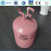 DOT AAA 27Bars High standard Disposable Helium Gas Cylinder