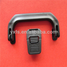 Supply plastic case handle with lock buckle