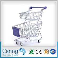 CA-MN03 double-deck mini shopping cart used as a gift