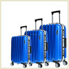 2015 New design pc abs luggage set 22''26''30'' size