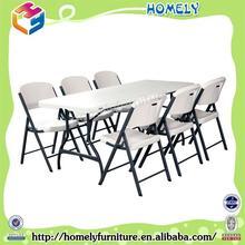 Fábrica de la venta directa pequeña mesa redonda de plástico