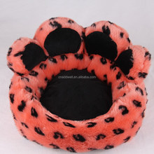 Bear paw shaped dog bed pet bed luxury