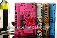 Flag Custom Leather Wallet Case For Iphone, for galaxy note 3 custom case,for custom printed iphone case