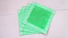 130g Japan polyester pvc mesh fabric for building safety net