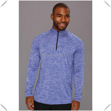 gym clothing half quarter zipper,performance dryfit gym apparel jumpers,tri-blend gym apparel mens jumpers custom wholesale