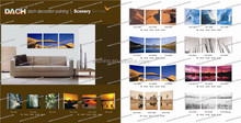 Home Decor glass wall picture paintings/ glass abstract art wall picture painting