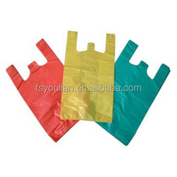 t-shirt shopping plastic bags with good quality