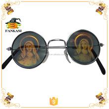 New 3D hologram glasses Round Poker Sunglasses
