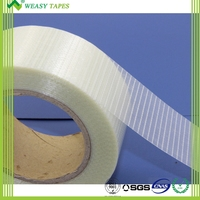 Hot Melt Glue Cross Filament Adhesive BOPP Tape