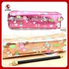 Promotion school pencil case,PU pencil box ,zipper pencil case