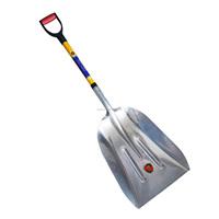 Aluminum Scoop Snow Shovel with Fiberglass Handle