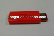 Promotion simple plastic usb flash drive with logo printing