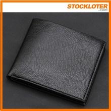 2015 Cheap Men's PU Leather Triple BI- Fold Long Wallet stock, 150602e
