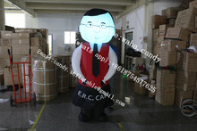 Hot sale inflatable waiter cartoon characters