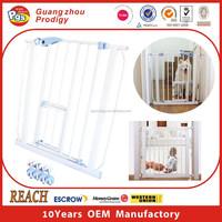 Baby safety door guard double door gate for baby