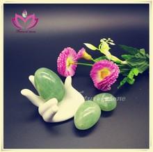 woman vaginal health care jade eggs natural green jade kegel exercise eggs kegel balls yoni eggs