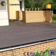 china manufacture anti- termite wood plastic composite floors