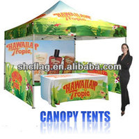 Trade show advertising outdoor folding pop up tent canopies