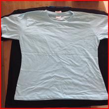 Women blank 100 cotton t shirts