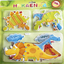 Customize Kids Animals 3d Stickers Wholesale&Scrapbook Embellishments Kids Wall Stickers