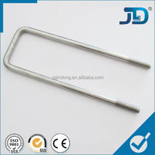 china stainless steel/ ss square u bolt